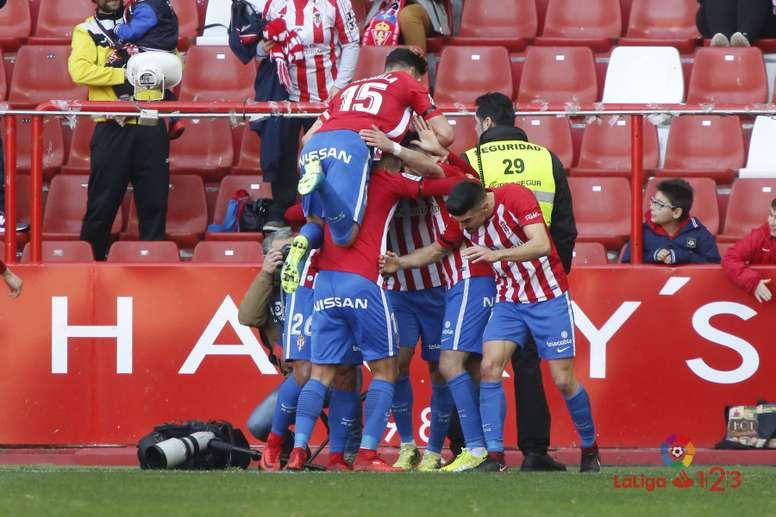El Sporting está obligado a ganar en casa. LaLiga/Archivo