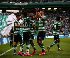 A joia portuguesa na mira do Manchester United. Twitter/SportingCP