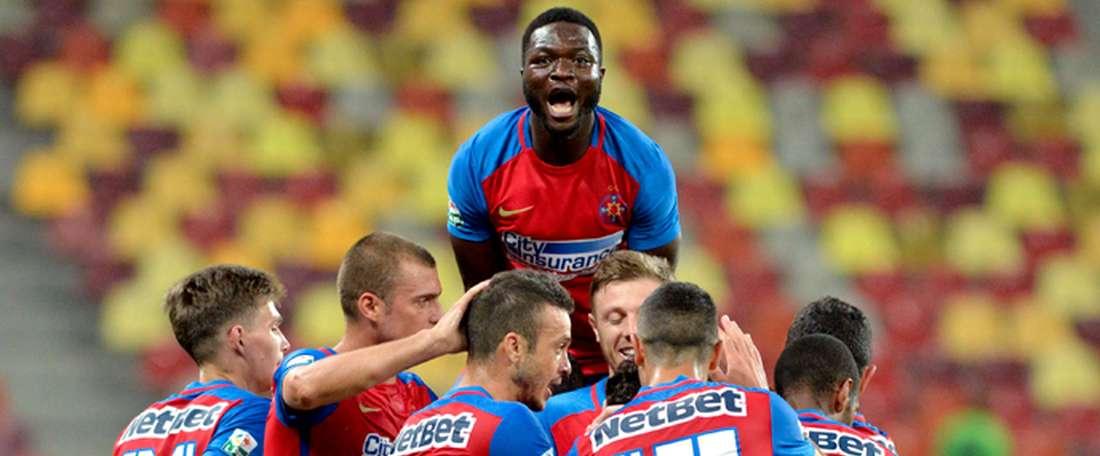 El líder de la Liga Rumana perdió por la mínima en el campo del Concordia. Steaua