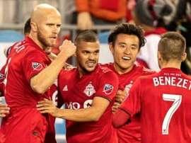 La victoria fue épica para el Toronto FC. Twitter/TorontoFC