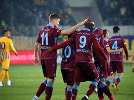 Pas de reprise du championnat turc avant juin. Twitter/Trabzonspor