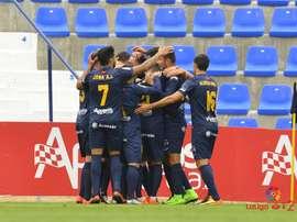 El UCAM ganó con un gol cerca del final. LaLiga