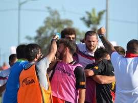 El Unión Adarve ascendió a Segunda División B este año. BeSoccer