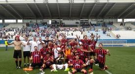 El Unión Viera viaja a Cádiz con el sueño de la remontada. Twitter/CFUNIONVIERA