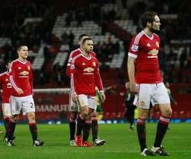 Los jugadores del United cayeron en la Premier. Twitter