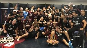 La squadra nipponica del Vissel Kobe. Twitter/VisselKobe