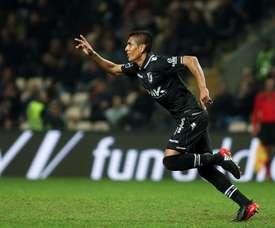 El Vitoria Guimaraes no pudo pasar del empate en casa del Boavista. Twitter/VitoriaGuimaraes