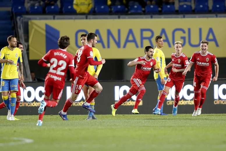 El Zaragoza venció (0-1). LaLiga