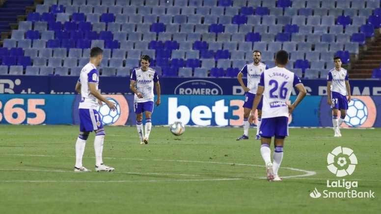 El Zaragoza informó de un positivo en el primer equipo. LaLiga