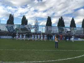 Los jugadores del Zurich celebran la victoria lograda ante el Wohlen. FCZurich