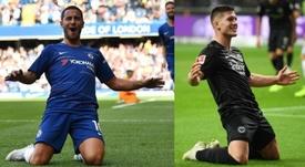 Habrá un Chelsea-Eintracht en semifinales. AFP/Archivo
