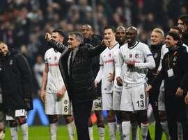 Besiktas segue em frente na Liga Europa. UEFA