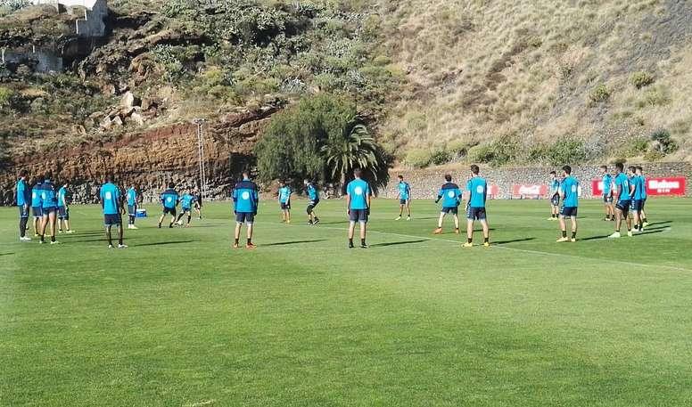 Edu Oriol cree que aún tiene tiempo para ser importante en el CD Tenerife. CDTenerife