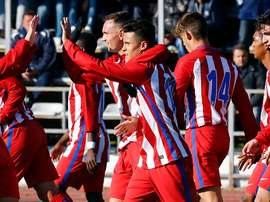 El Atlético acabó segundo y se jugará su continuidad ante el Altinordu. ClubAtleticodeMadrid