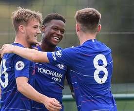 El Chelsea ha batido su récord de goles. Twitter/ChelseaFC