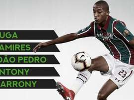 Las cinco perlas que 'ProFootballDB' destaca en Brasil. ProFootballDB