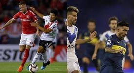 Los octavos de final de la Libertadores dejaron rivales brasileños para River y Boca. BeSoccer/EFE