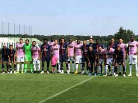 PSG faced Chambly in their pre-season opener. Twitter
