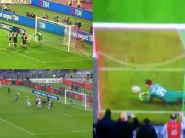 Three goals in ten minutes for Juventus. Captura