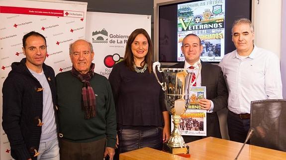 Los veteranos de Berceo, Zaragoza y Logroñés jugarán a favor de los refugiados. Twitter