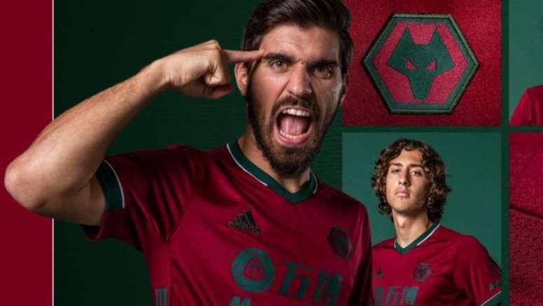 A homenagem dos Wolves ao futebol português. Captura/wolves