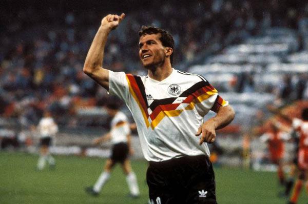 Matthaus fue toda una bestia negra para el Madrid de los 80. AFP