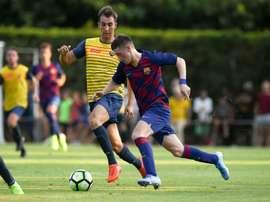 Barcleona lucra com jovem jogador. Twitter/FCBMasia