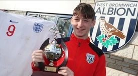 Louie Barry of WBA is being sought after by Barcelona. WBA
