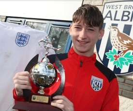 Louie Barry is a target for Barcelona. WestBromwichAlbion