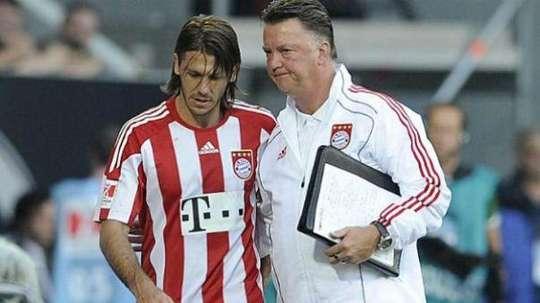Demichelis a raconté son aventure au Bayern. AFP