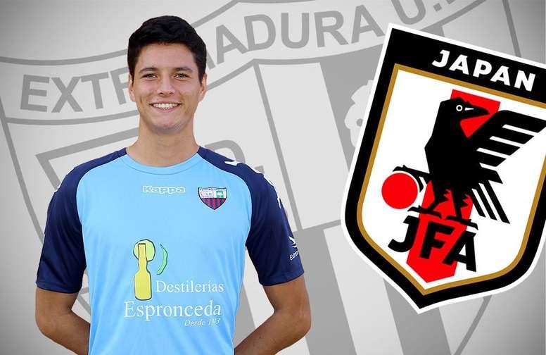 Yamaguchi, del Extremadura B, convocado con Japón Sub 22. ExtremaduraUD