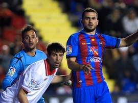 Loukas Vyntra, ex del Levante, jugará en la Liga de Israel. LevanteUD