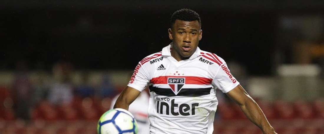 Luan renovó hasta 2022. Twitter/SaoPauloFC
