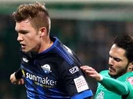 Le jeune défenseur Luca Kilian (Paderborn) a été testé positif. SCPaderborn