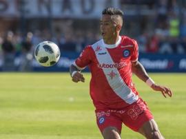 Lucas Barrios abandona Argentinos Juniors. ArgentinosJuniors