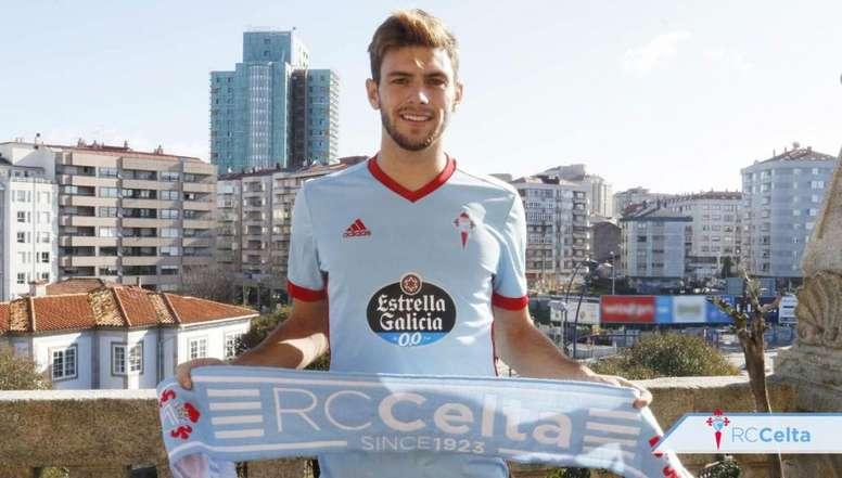 Lucas Boyé será presentado el próximo lunes. RCCelta