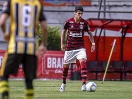 Lucas Freitas va s'engager avec Valladolid. Flamengo/MarceloCortes