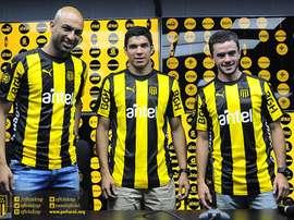 El conjunto uruguayo hizo oficial la llegada estos tres nuevo refuerzos. Peñarol