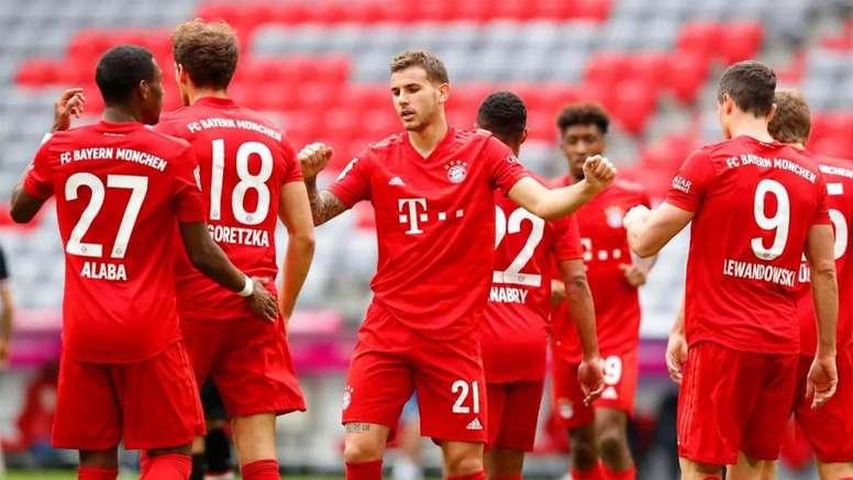 Lucas Hernandez could start at left back ahead of Davies. AFP