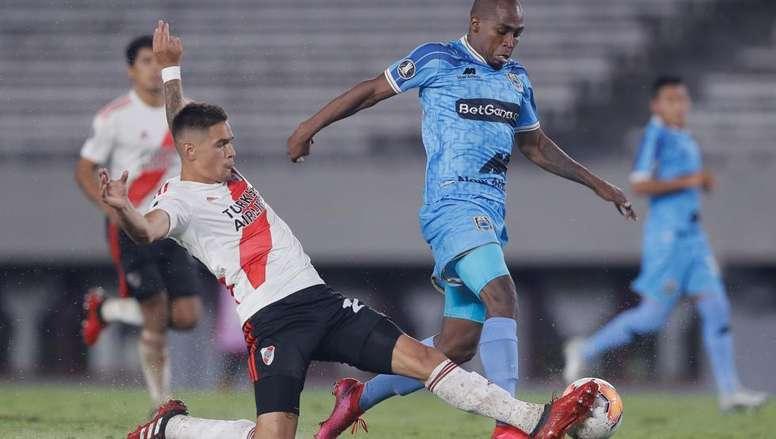 Martínez Quarta apunta a jugar en Europa. EFE/Juan Ignacio Roncoroni