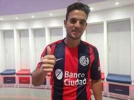 Menossi, nouveau joueur de San Lorenzo. SanLorenzo