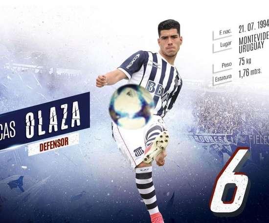 Lucas Olaza, en la agenda de Boca. Talleres