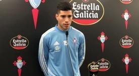 Lucas Olaza habló de una final contra el Mallorca. Captura/CeltaTV