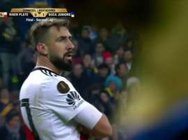 Pratto égalise. Capture/Vamos