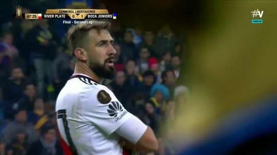 Pratto restored parity. Screenshot/Vamos#