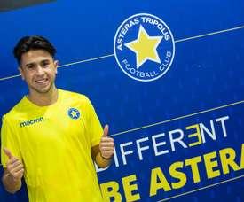 El Asteras ha firmado a Lucas Salas. AsterasFC