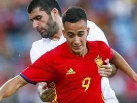 Lucas Vázquez chamado à Seleção. EFE