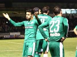Lucas Villafañez marcó la diferencia. Panathinaikos