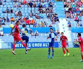 El Castellón se impuso por 0-2. CD_Castellon