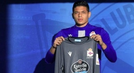 Lucho espera ayudar al Deportivo a volver a Segunda. EFE